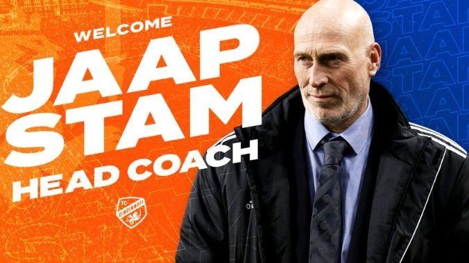 Wer ist denn das? Cincinnati FC stellt Jap Stam mit falschem Foto als Trainer vor - Bildquelle: twitter: @fccincinnati
