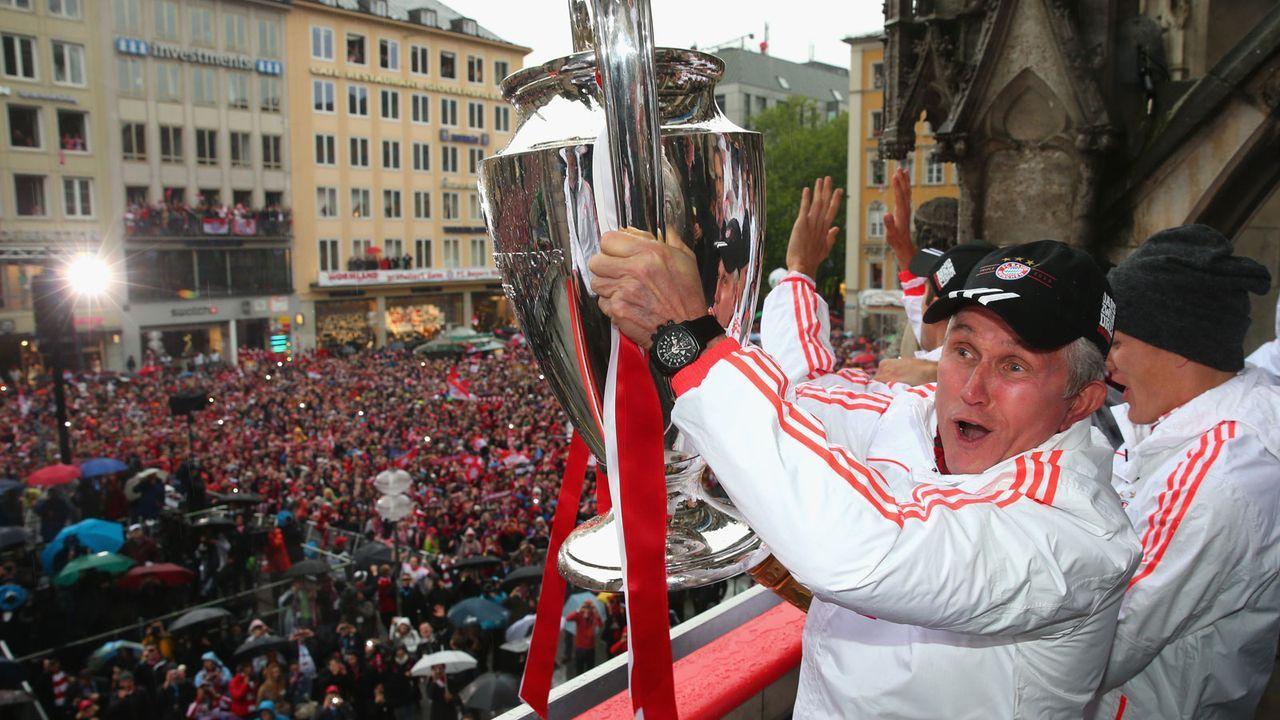 Jupp Heynckes (FC Bayern 1987-91 und 2011-13) - Bildquelle: 2013 Getty Images