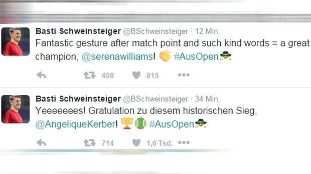 Bastian Schweinsteiger Tweet - Bildquelle: twitter / @BSchweinsteiger