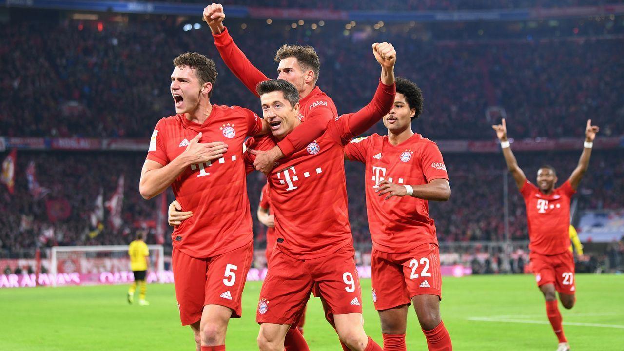 Bayern Dominiert Den Bvb Alle Spieler In Der Einzelkritik