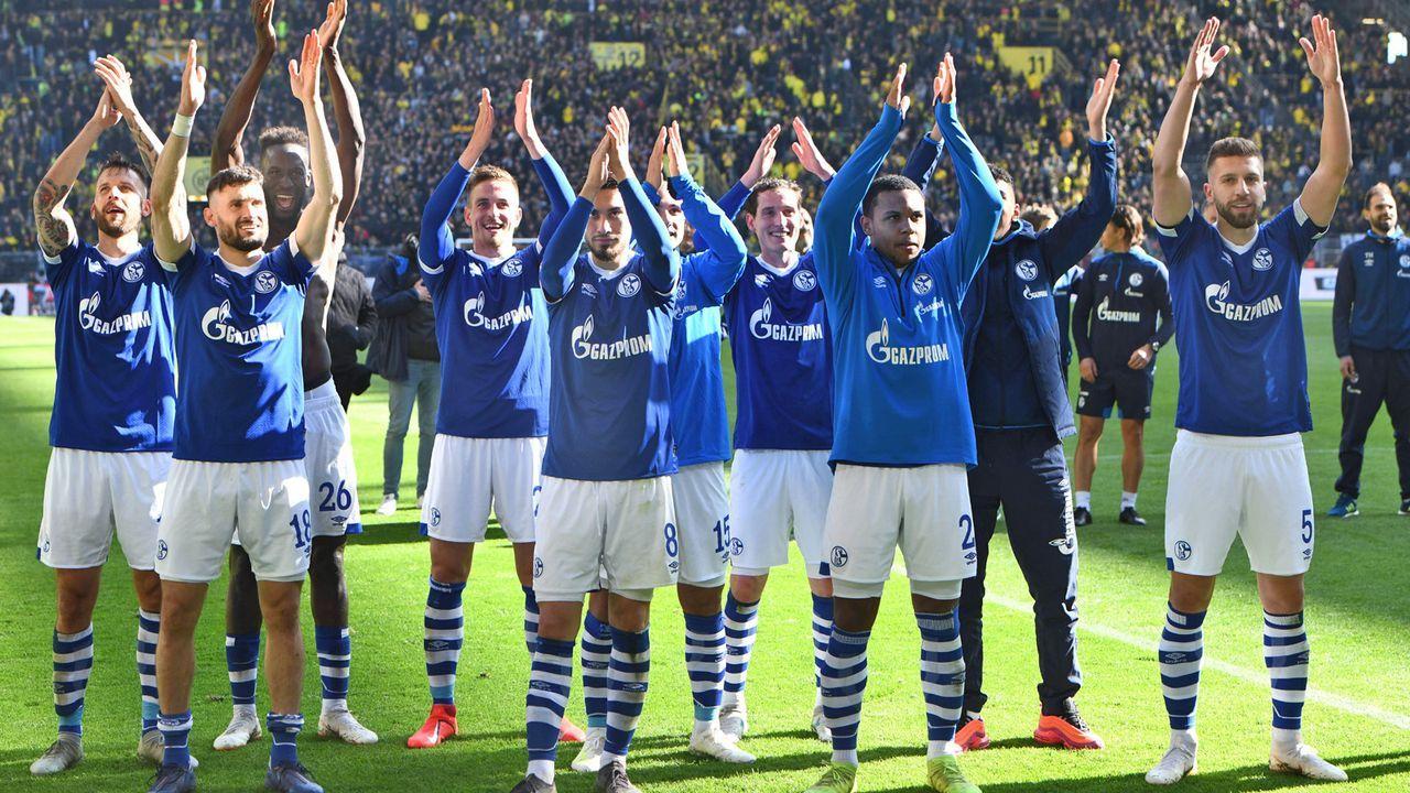 Platz 4: FC Schalke 04 - Bildquelle: imago images / Horstmüller