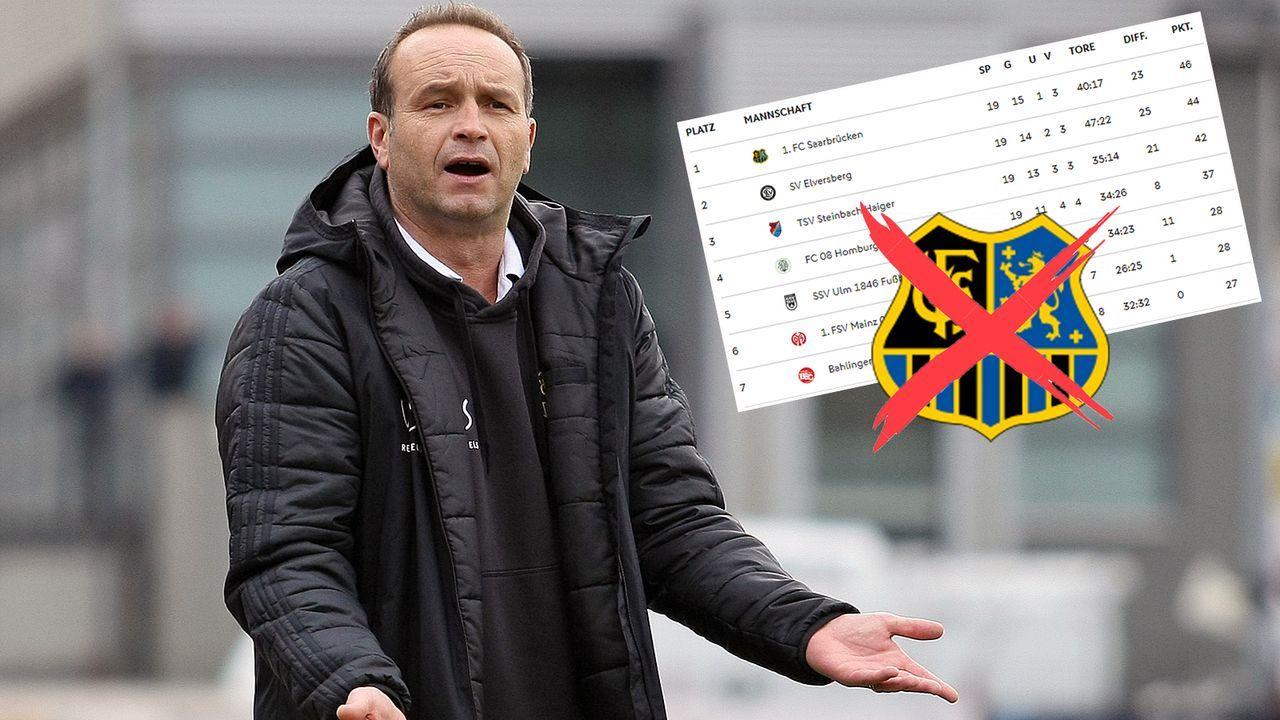 """Ziel Aufstieg """"extrem in Gefahr"""" - Tabellenführer Saarbrücken feuert Coach Lottner - Bildquelle: Imago/dfb.de"""