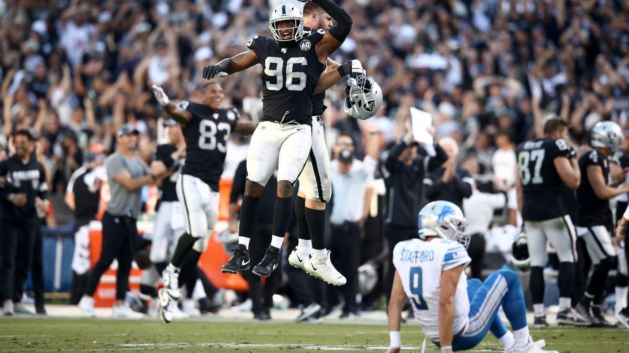 Las Vegas Raiders: Clelin Ferrell (Defense) - Bildquelle: 2019 Getty Images