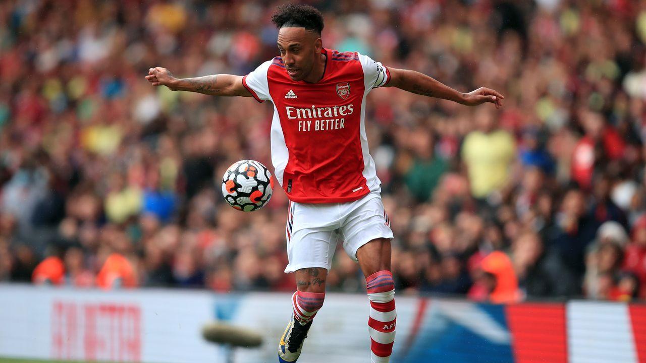 Platz 6 - Pierre-Emerick Aubameyang (FC Arsenal) - Bildquelle: 2021 Getty Images