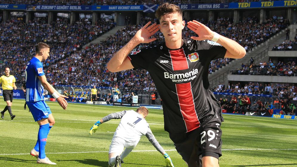 Leverkusen nach Sieg in Berlin in der Champions-League - Bildquelle: imago
