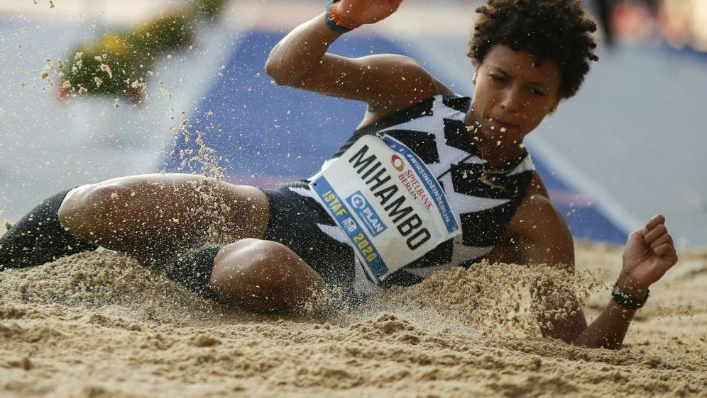 Lobt Engagement der US-Sportler: Malaika Mihambo - Bildquelle: AFPSIDODD ANDERSEN