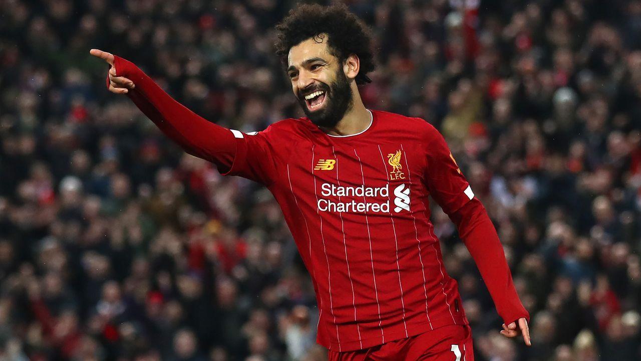 Platz 4 - Mohamed Salah - Bildquelle: 2020 Getty Images