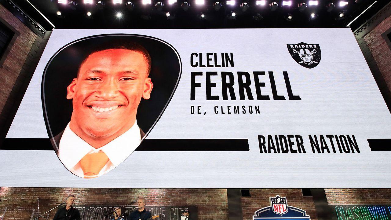 Draft Pick 4: Oakland Raiders - Bildquelle: 2018 Getty Images
