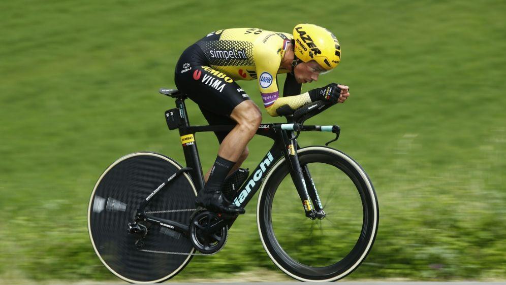 Primoz Roglic gewinnt das Zeitfahren in San Marino - Bildquelle: AFPSIDLUK BENIES