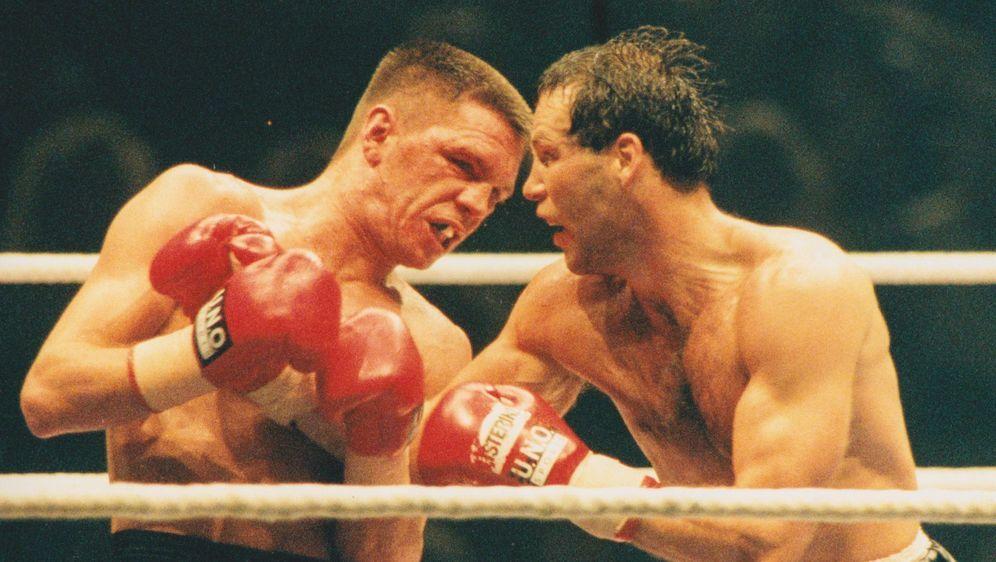 Ein deutscher Box-Klassiker: Graciano Rocchigiani gegen Henry Maske - Bildquelle: imago sportfoto