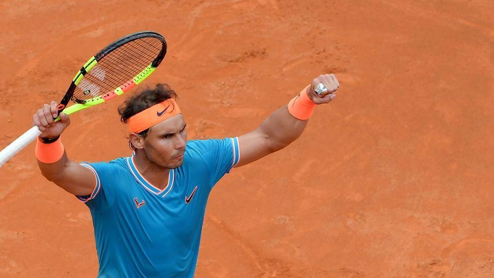 Rafael Nadal gewinnt das ATP-Master-Turnier in Rom - Bildquelle: AFPSIDTIZIANA FABI