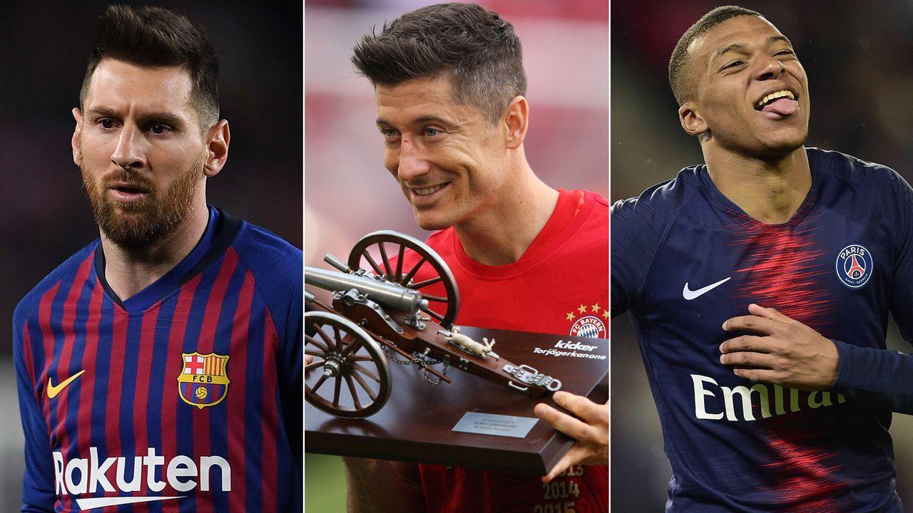 Europas Torschützenkönige der Saison 2018/19 - Bildquelle: Getty Images