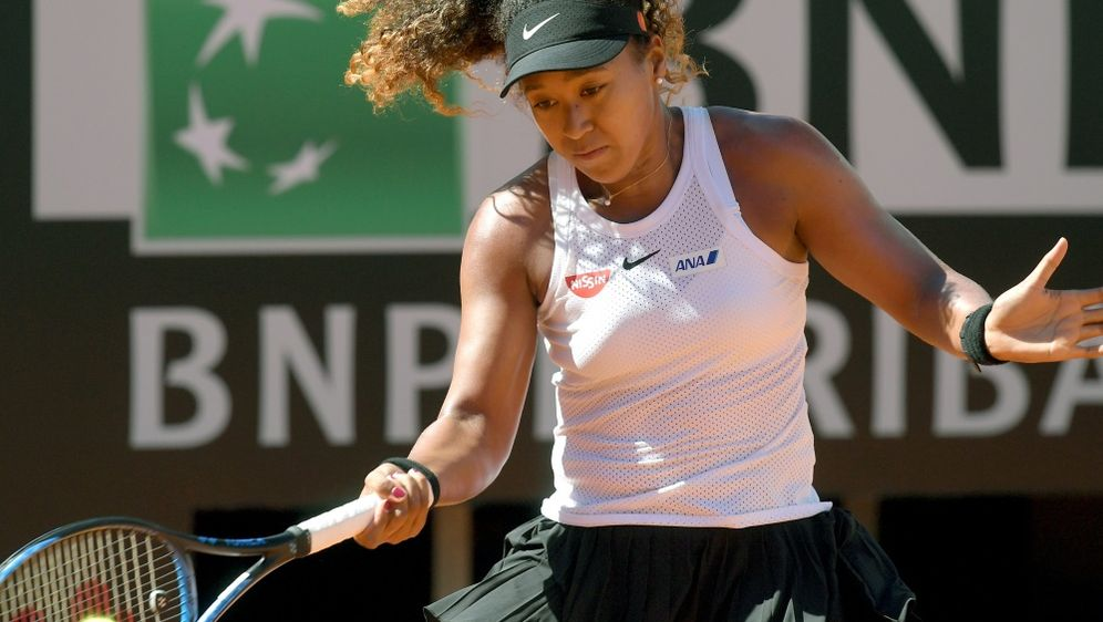 Muss ihr Viertelfinale in Rom absagen: Naomi Osaka - Bildquelle: AFPSIDTIZIANA FABI