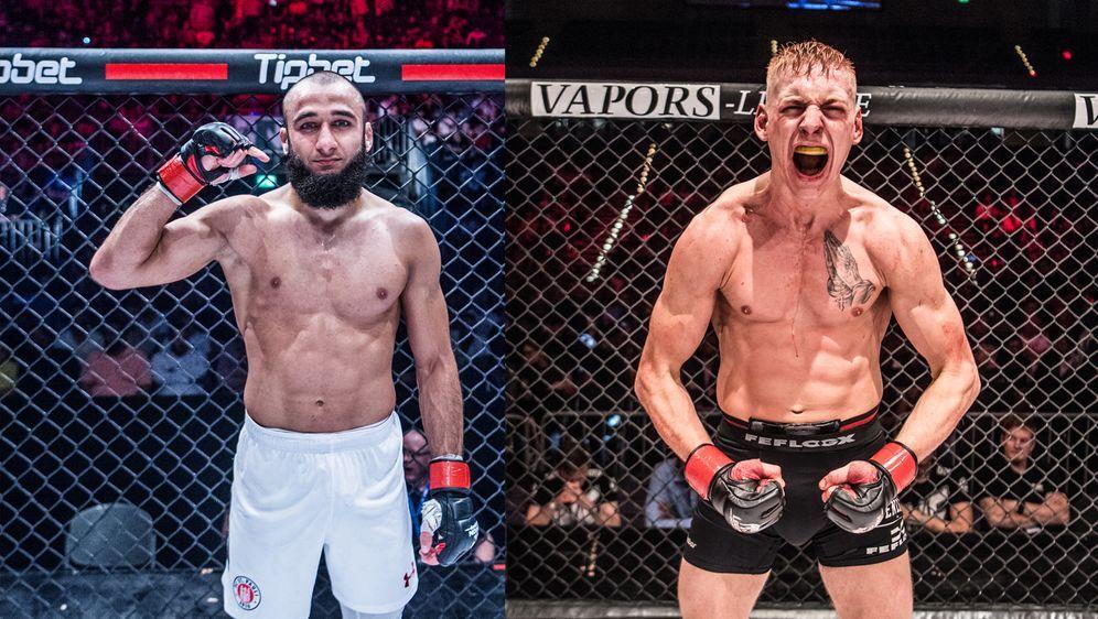 Solmaz und Schiffarth kämpfen um den GMC-Titel im Federgewicht - Bildquelle: Foto Seven Sport