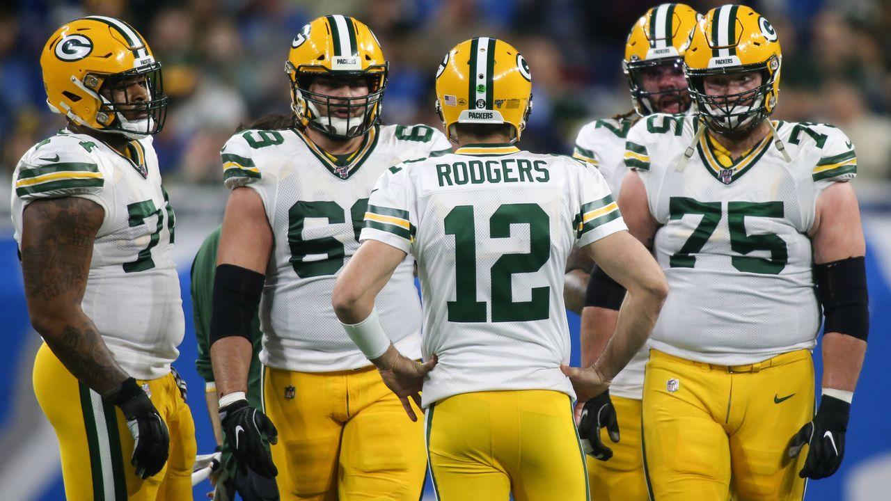 Platz 4: Green Bay Packers (13-3, letzte Woche Platz 4)  - Bildquelle: imago images/Icon SMI