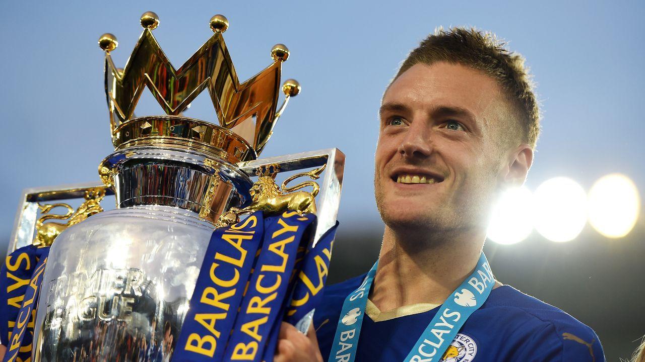 England: Jamie Vardy - 11 Spiele - Bildquelle: 2016 Getty Images