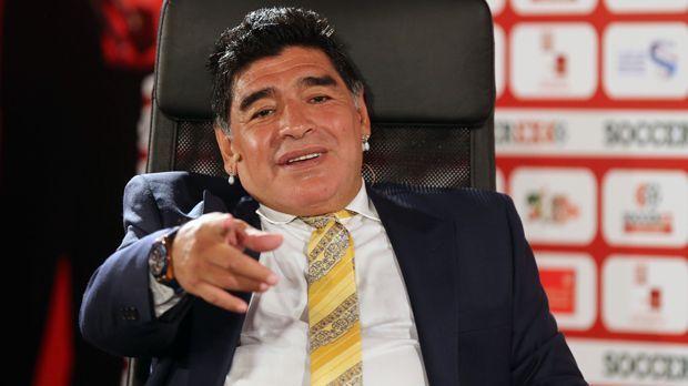 Diego Maradona (Drogenkonsum) - Bildquelle: 2015 Getty Images