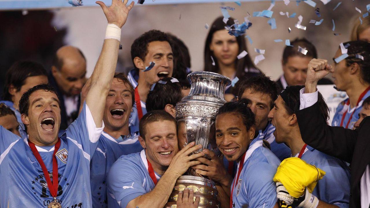 Platz 9: Uruguay (zwei Final-Teilnahmen) - Bildquelle: imago