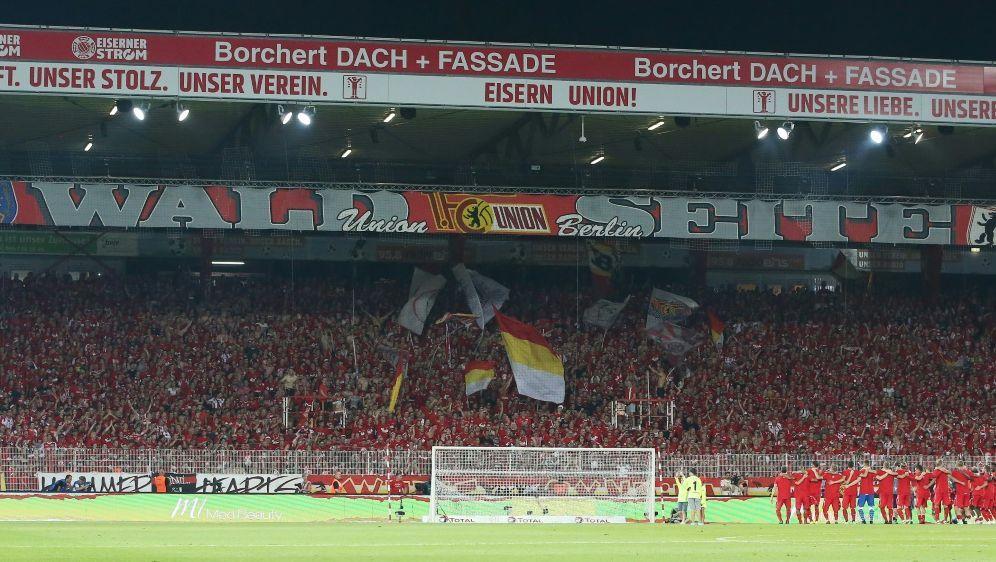 Union hofft auf 18.000 Zuschauer gegen Wolfsburg - Bildquelle: FIRO/FIRO/SID/