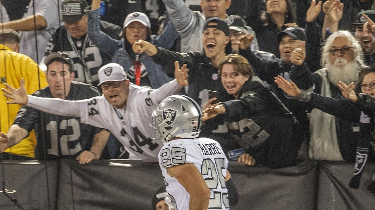Platz 32: Las Vegas Raiders - Bildquelle: imago images/ZUMA Press