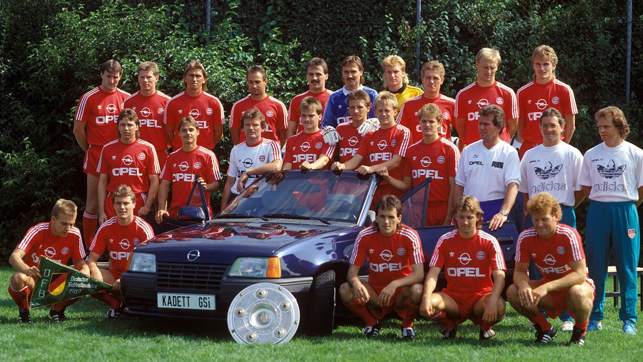 Heimtrikot der Saison 1989-91 - Bildquelle: Imago