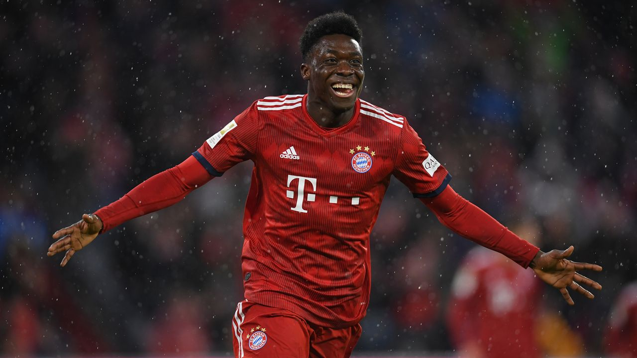 Alphonso Davies (19) - Bildquelle: 2019 Getty Images