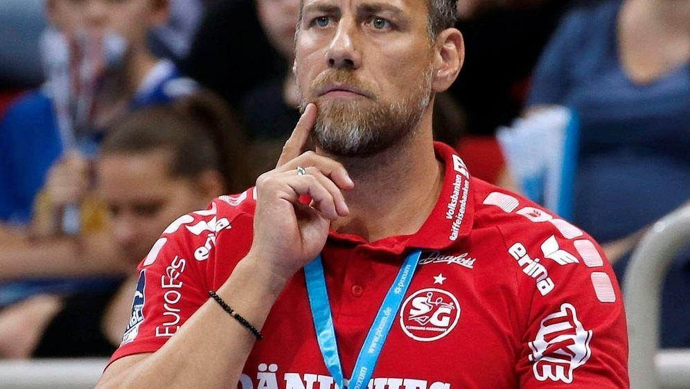 Kein Sieg für Flensburg und Trainer Maik Machulla - Bildquelle: PIXATHLONPIXATHLONSID