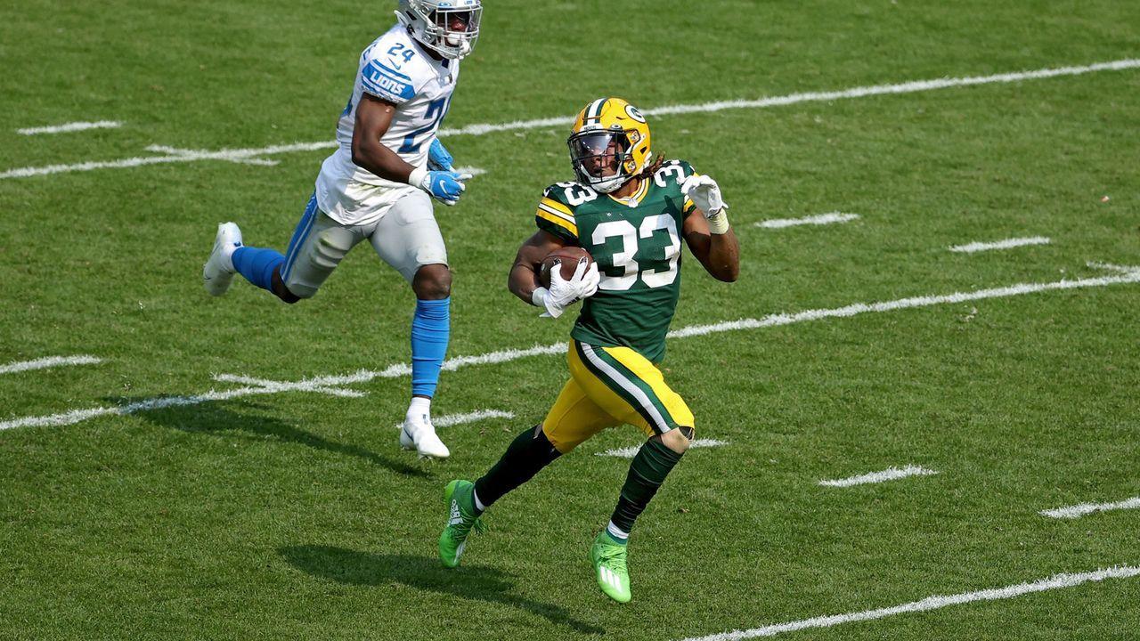 Running Back: Aaron Jones (40 Punkte) - Bildquelle: 2020 Getty Images
