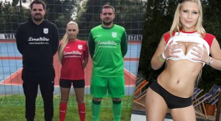Porno-Star als Trikotsponsor bei Amateurteam - Bildquelle: Facebook/SV Oberwürzbach / imago