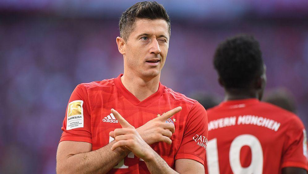 Robert Lewandowski erzielte in der laufenden Saison 38 Pflichtspieltore für ... - Bildquelle: getty