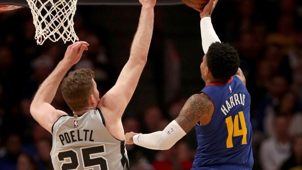 Die Spurs mit Pöltl kämpfen erbittert gegen die Nuggets - Bildquelle: GETTY IMAGES NORTH AMERICAGETTY IMAGES NORTH AMERICASIDMATTHEW STOCKMAN