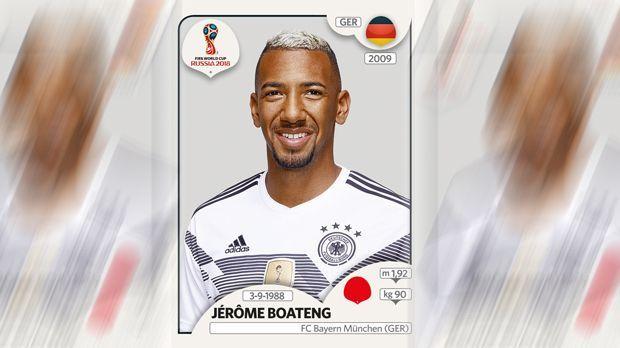 Jerome Boateng (FC Bayern München) - Bildquelle: Panini