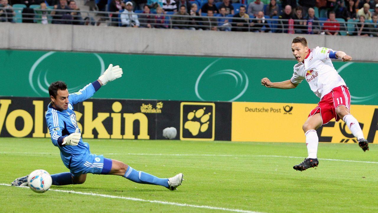 Sensation gegen Wolfsburg: Leipzigs allererstes DFB-Pokalspiel - Bildquelle: imago sportfotodienst