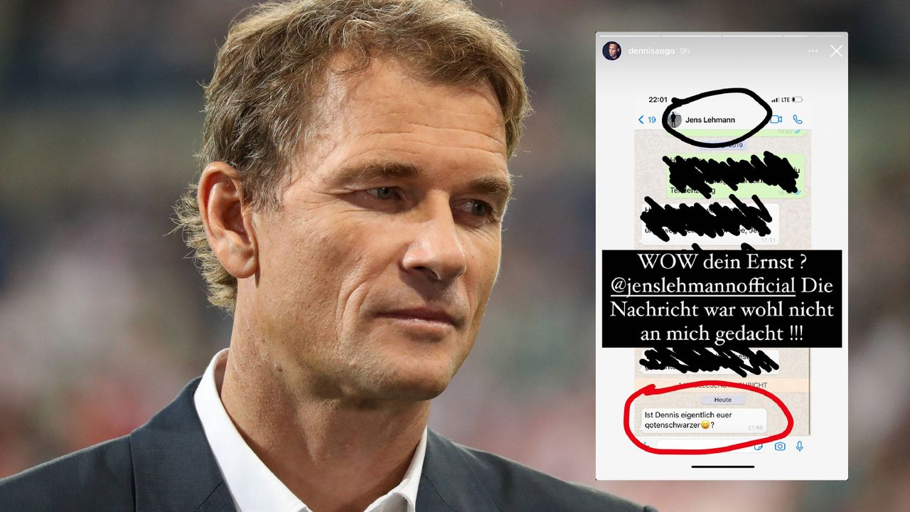 Lehmann beleidigt Aogo bei WhatApp - Bildquelle: Imago Images / Instagram: Dennis Aogo