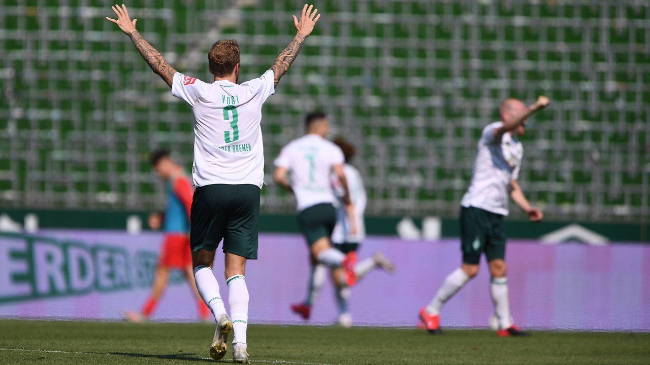 Abpfiff in Bremen: Werder darf in die Relegation - Bildquelle: Imago