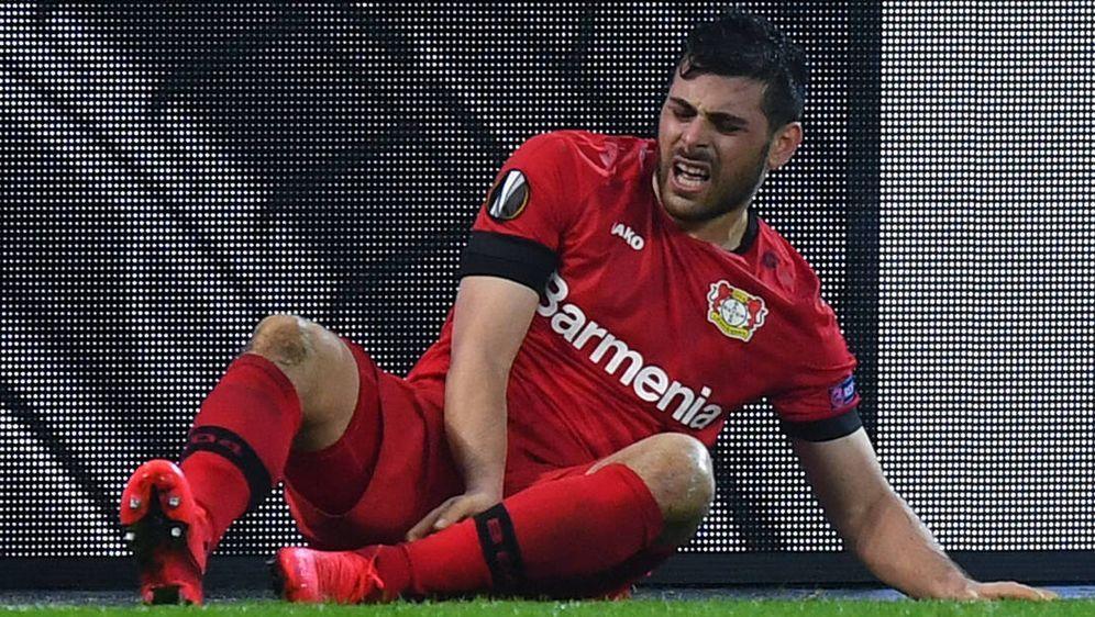 Für Kevin Volland von Bayer 04 Leverkusen könnte die Saison beendet sein - Bildquelle: imago images/Revierfoto