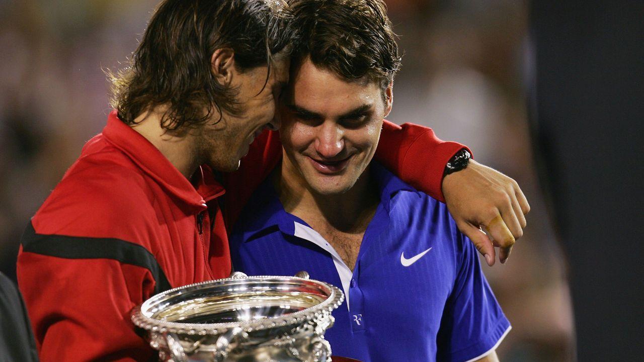 Federer vs. Nadal - eine Rivalität für die Ewigkeit - Bildquelle: 2009 Getty Images