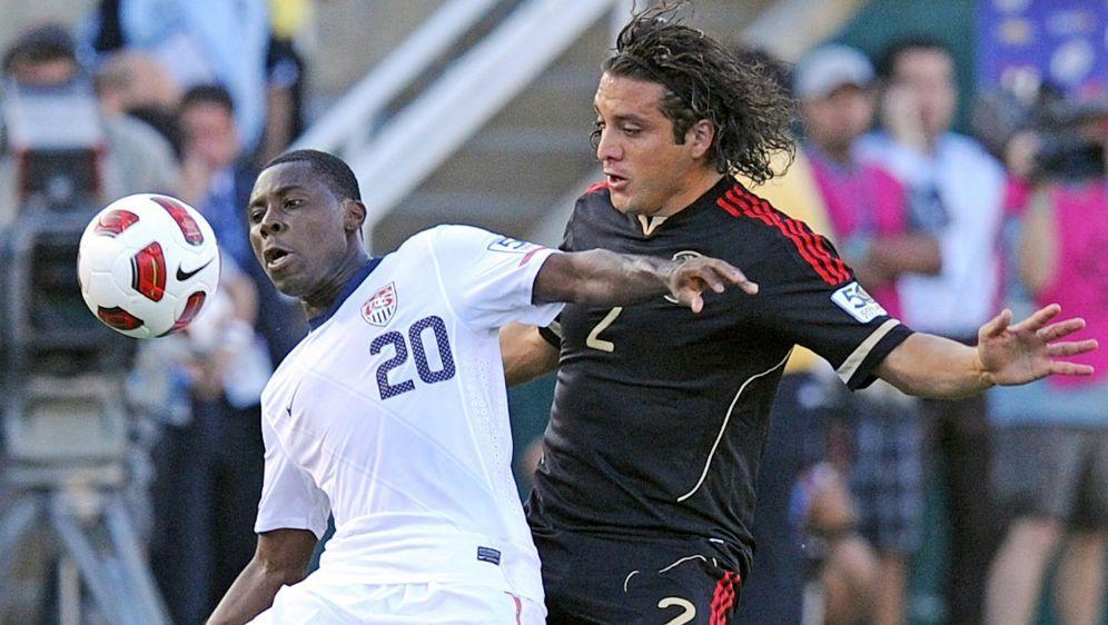 Der ehemalige Nationalspieler Freddy Adu (l.) - Bildquelle: AFPSIDGABRIEL BOUYS