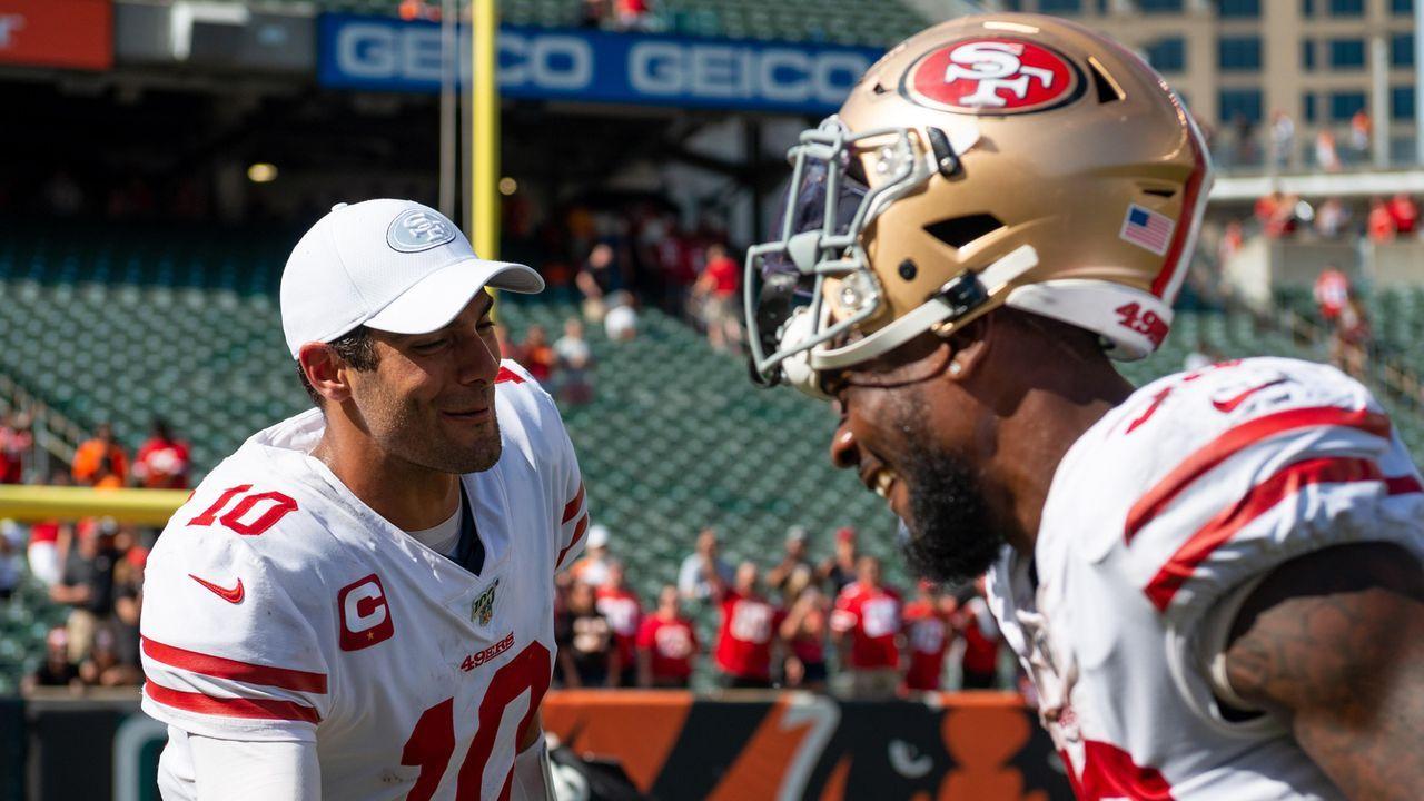 Gewinner: Überraschungsteams 49ers und Bills - Bildquelle: imago images / ZUMA Press