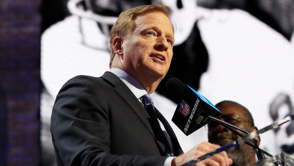Unter seiner Leitung boomt die NFL weiter: Roger Goodell - Bildquelle: Getty