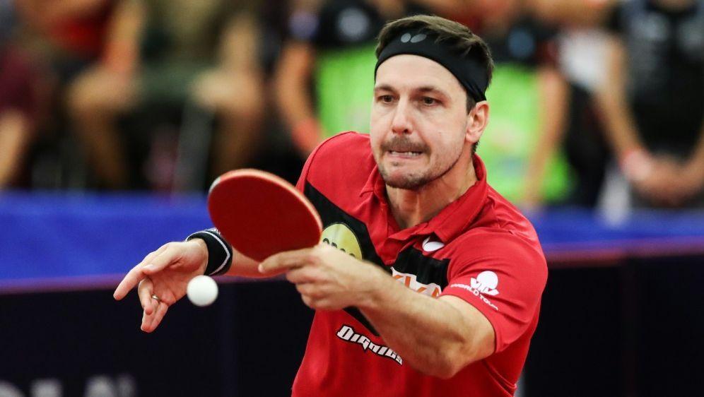 Timo Boll freut sich auf den Start der Turnierserie - Bildquelle: pixathlonpixathlonSIDSIPA