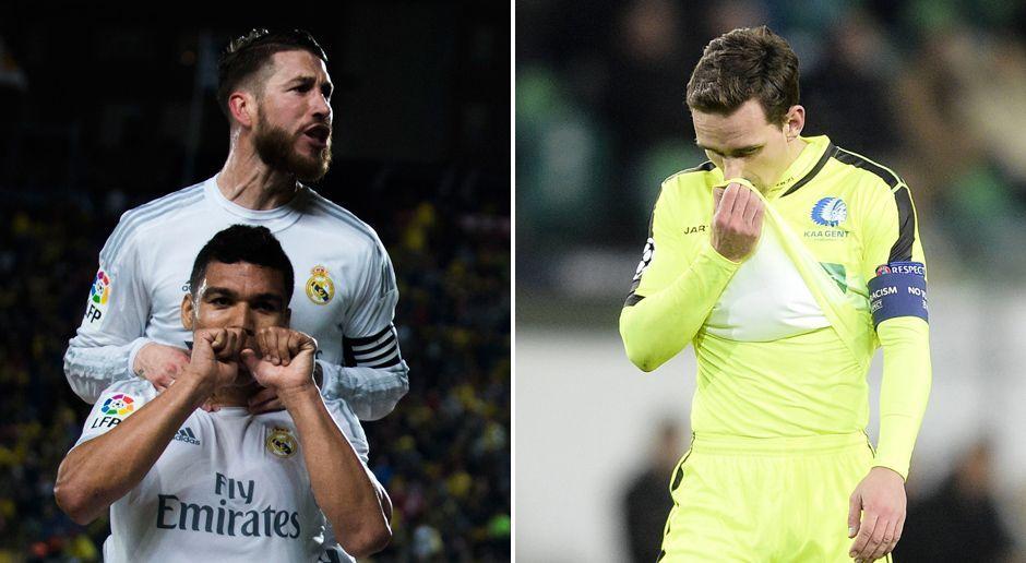 Real Madrid - KAA Gent
