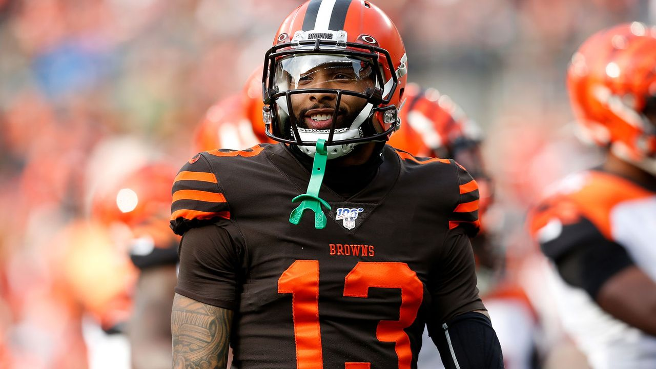 Platz 5: Odell Beckham Jr. (Cleveland Browns) - Bildquelle: 2019 Getty Images