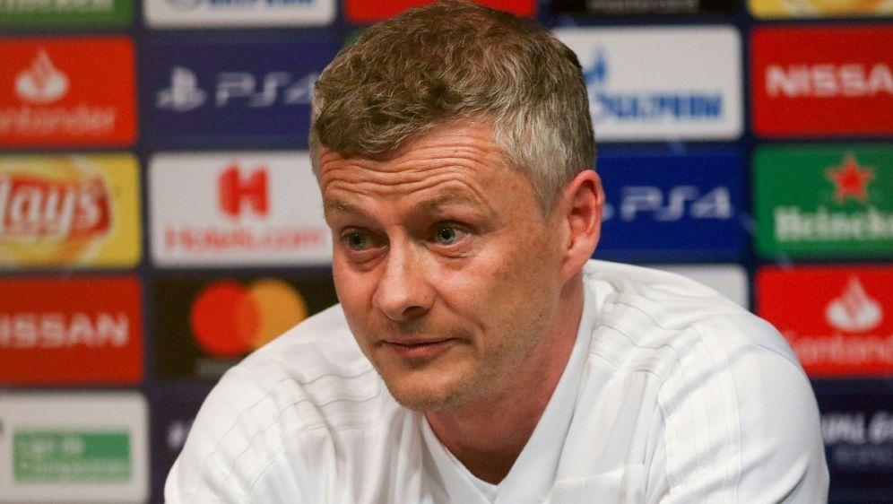 Manager Ole Gunnar Solskjaer ist von sich überzeugt - Bildquelle: FIROFIROSID