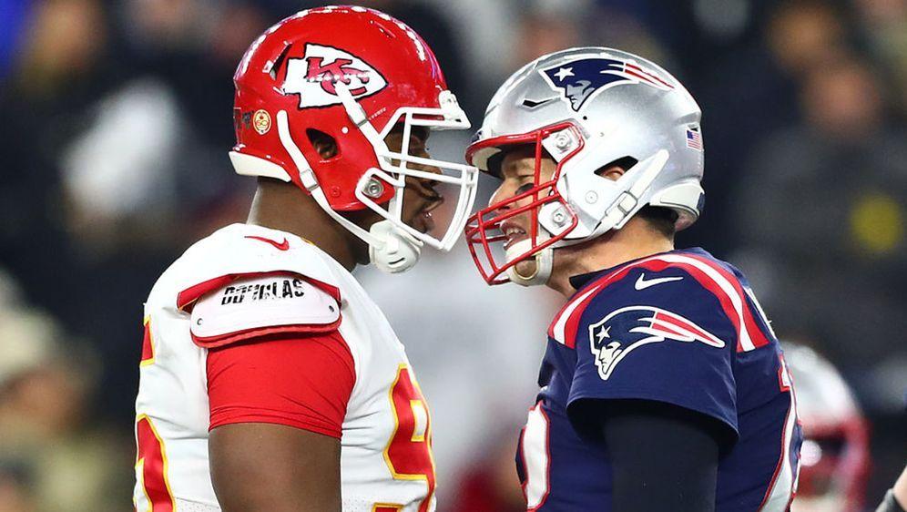 Im Duell der Kansas City Chiefs und der New England Patriots kochten die Emo... - Bildquelle: 2019 Getty Images