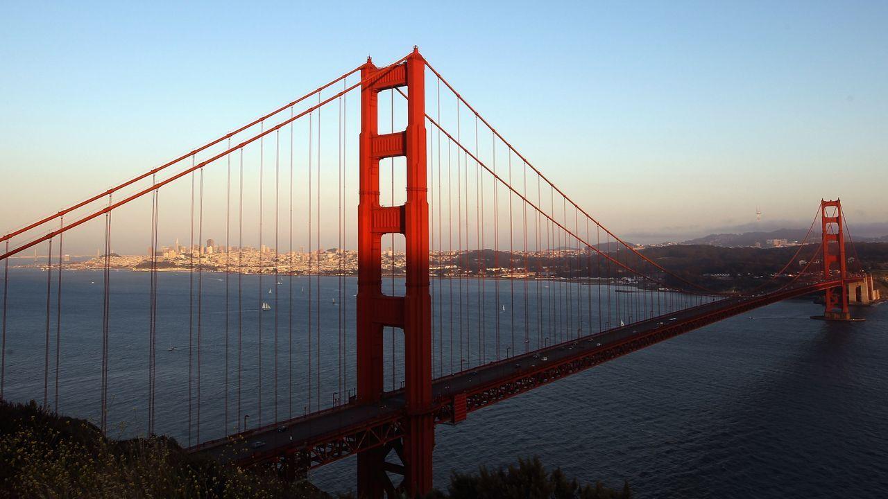 Wird die Golden Gate Bridge zu sehen sein?  - Bildquelle: Getty