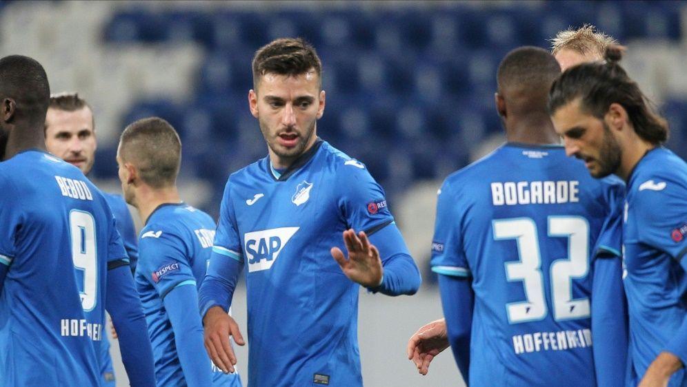 Die TSG ist in der Europa League noch ohne Punktverlust - Bildquelle: AFPPOOLSIDDANIEL ROLAND