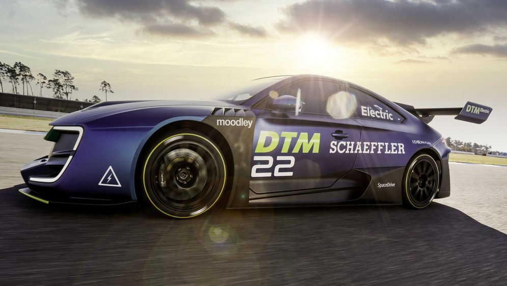 So oder so ähnlich soll der DTM-Electric-Bolide aussehen. - Bildquelle: ITR