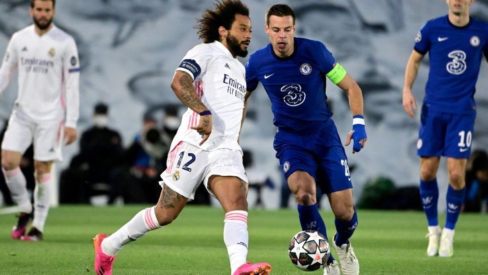 Marcelo im Rückspiel gegen Chelsea dabei - Bildquelle: AFPSIDJAVIER SORIANO