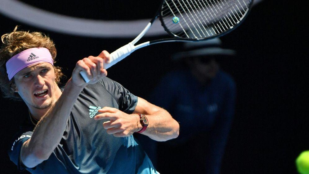 Schied in Melbourne gegen Raonic aus: Alexander Zverev - Bildquelle: AFPSID